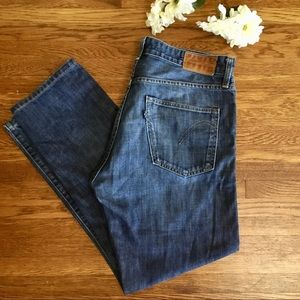Levis Blue Tab Jeans 32 vintage Made & Crafted USA